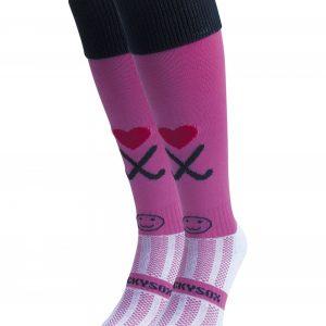 Pink Hockey Socks