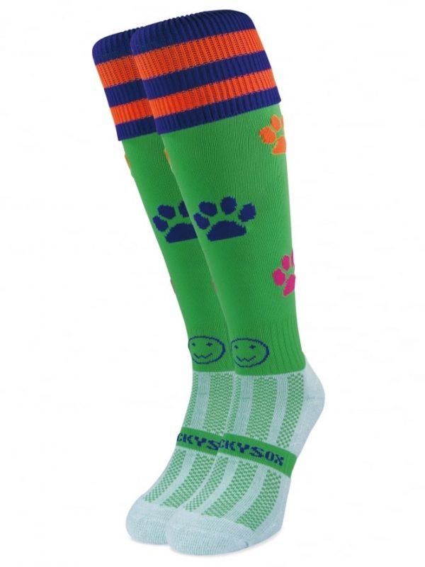 Paws Hockey Socks