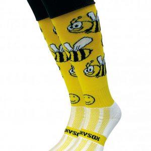 Bees Hockey Socks