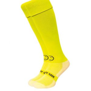 Yellow Wacksox Hockey Socks