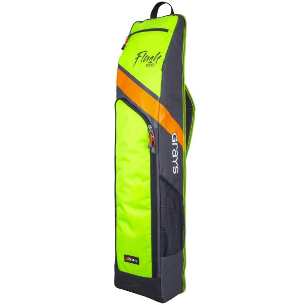 Grays Flash 500 Hockey Stickbag Neon Yellow Black