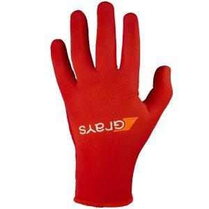 Hockey Glove Skinful Pro Red, Back