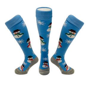 Snowman Hockey Socks