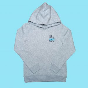KIDS EAT PLAY HOCKEY HOODIE