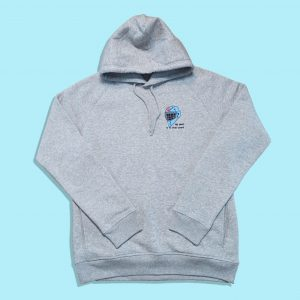 HOCKEY GOALKEEPER HOODIE GRAY